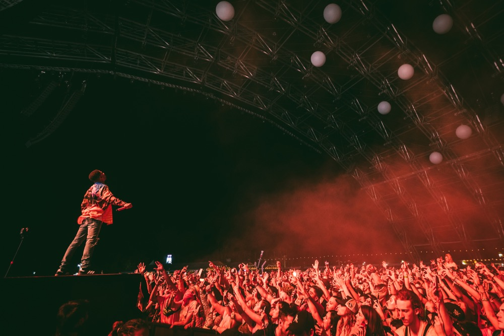 Coachella, Kid Cudi, Goldenvoice, Crowd Shot