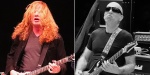 Dave Mustaine and Joe Satriani at Experience Hendrix Tour