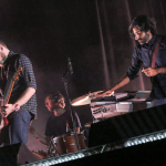 Explosions in the Sky, photo by Nina Corcoran 20th anniversary tour 2019