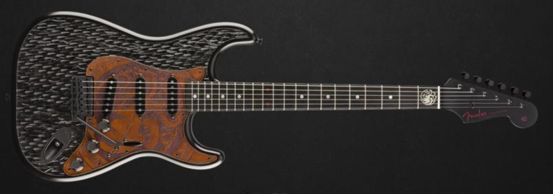 Fender House Targaryen Stratocaster