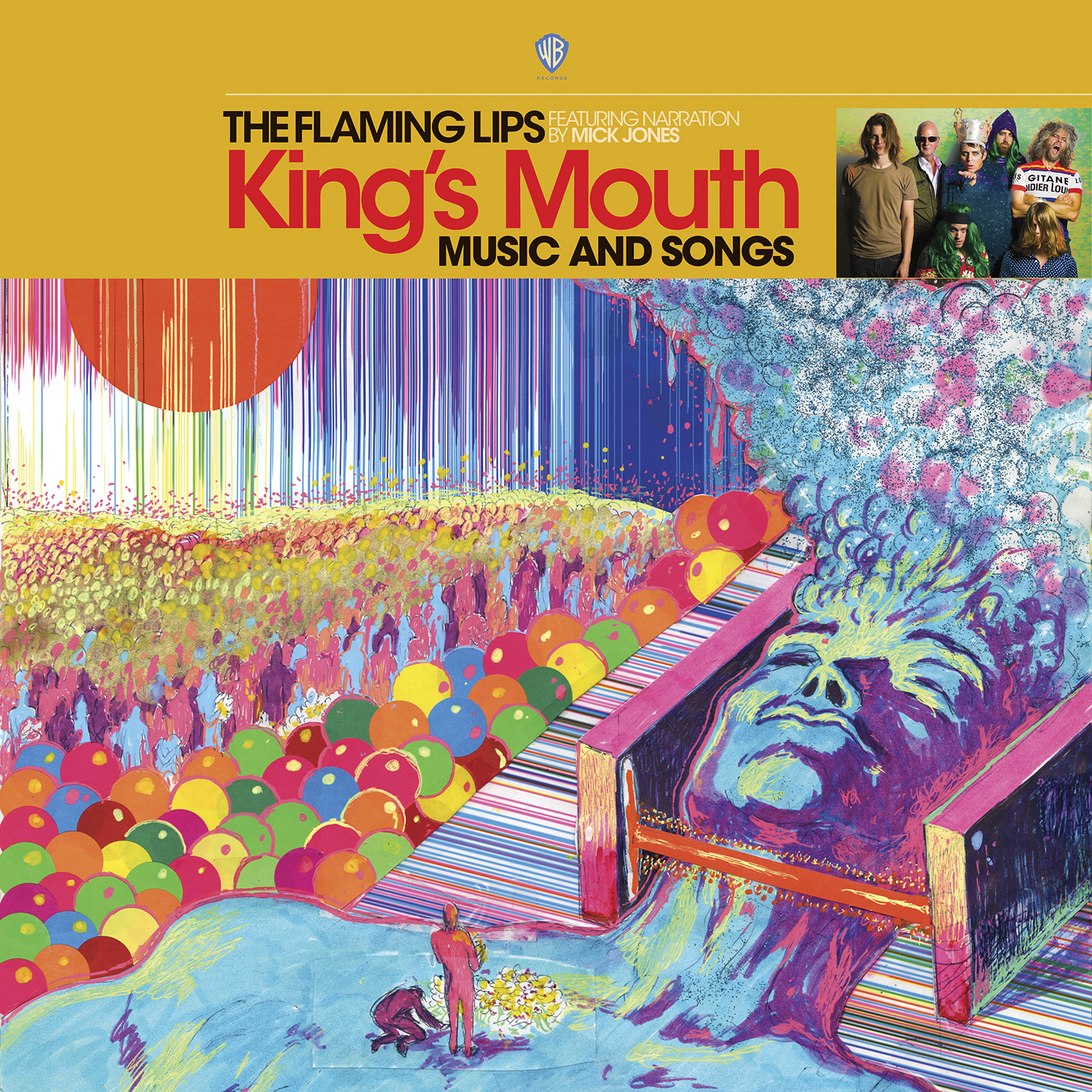 Flaming Lips Kings Mouth The Flaming Lips announce wide release of new album Kings Mouth