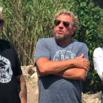 Guy Fieri, Sammy Hagar, and Maynard James Keenan