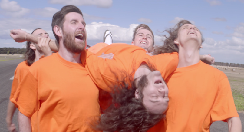"King Gizzard & the Lizard Wizard, screengrab from ""Planet B"", share new single and music video"