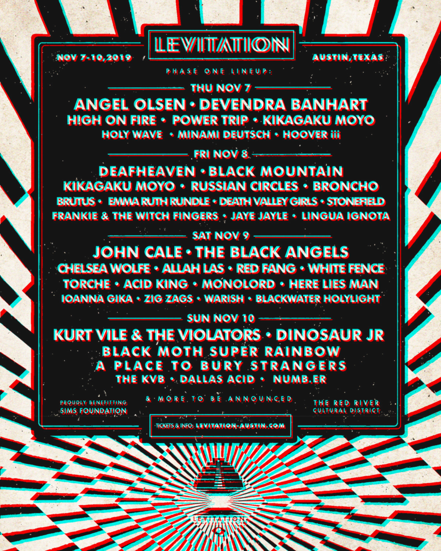 Levitation Festival 2019
