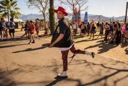 Morgxn at Coachella 2019, photo by Debi Del Grande