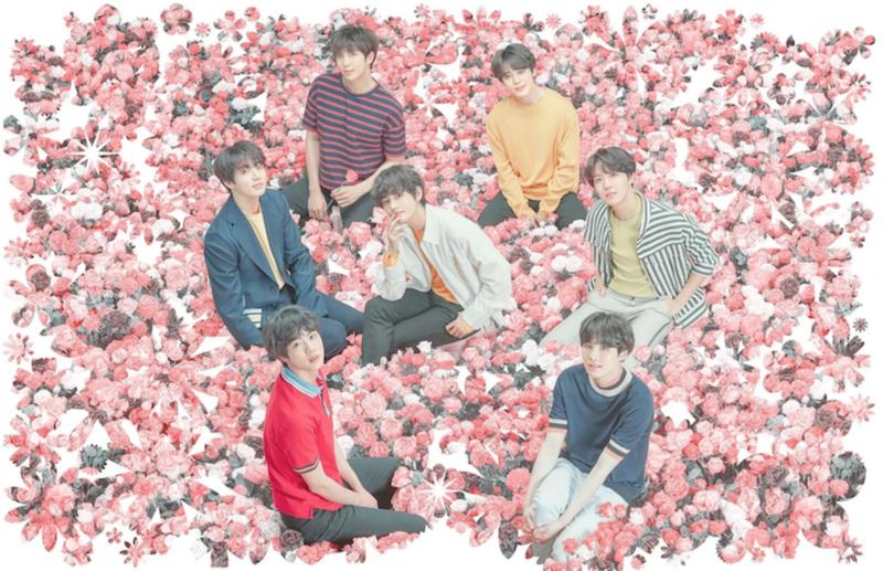 BTS Map of the Soul Persona album stream