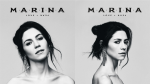 Marina surprise releases FEAR the first half of album LOVE+FEAR, artwork for LOVE+FEAR