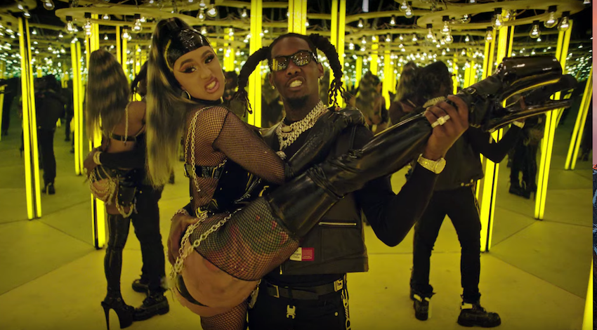 """Offset and Cardi B have all the """"Clout"""" in new music video: Watch"""