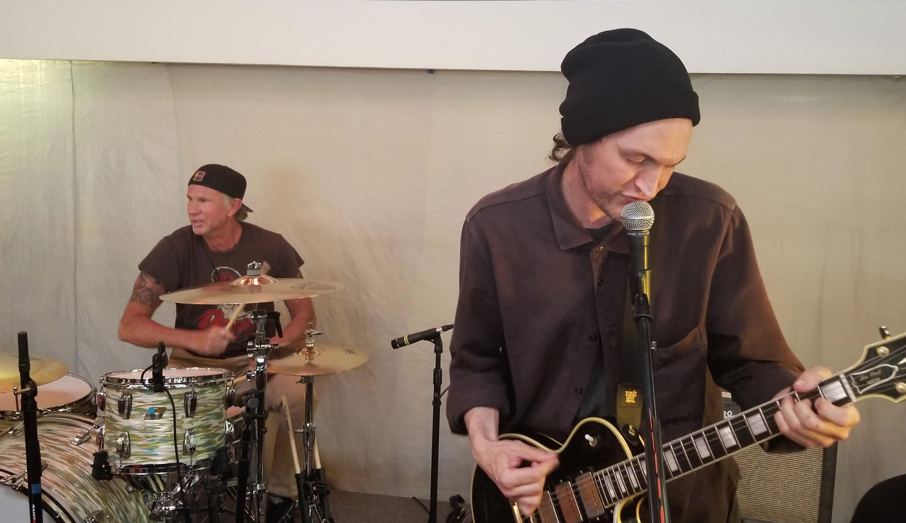 Red Hot Chili Peppers' Josh Klinghoffer and Chad Smith cover T. Rex songs at Record Store Day concert: Watch
