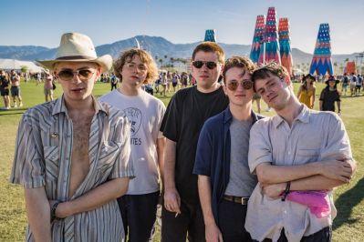 Shame at Coachella 2019, photo by Debi Del Grande