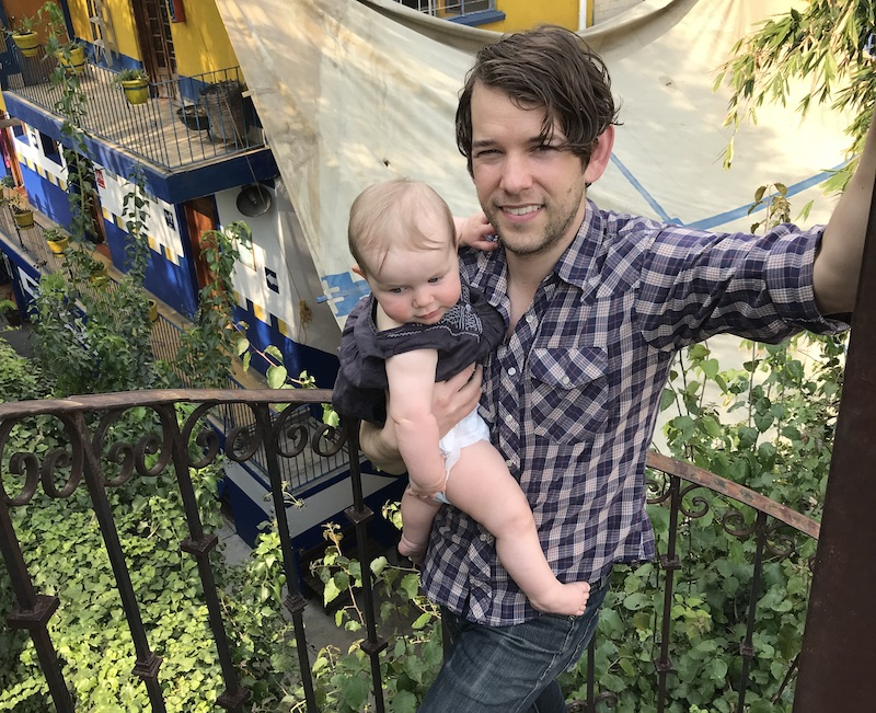 Sam Cohen and child becoming a father sarah graves