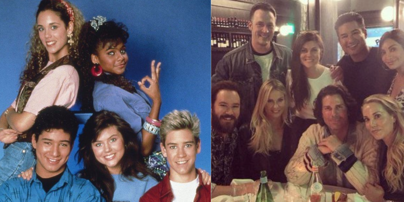 Saved By The Bell Cast Reunites 25 Years Later | TV News ...