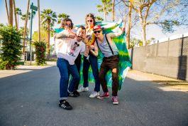 The Frights at Coachella 2019, photo by Debi Del Grande