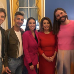 The Fab Four with AOC and Nancy Pelosi