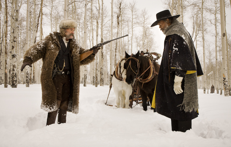 The Hateful Eight extended edition now available as four