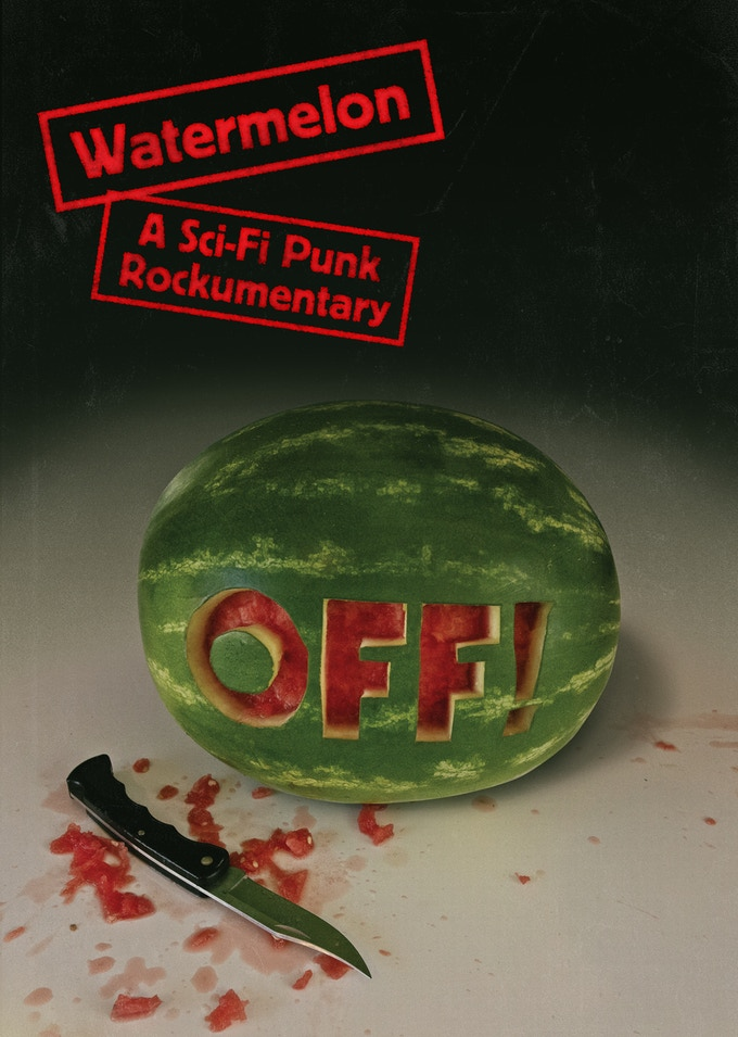 Watermelon Poster for OFF! New Album and Movie
