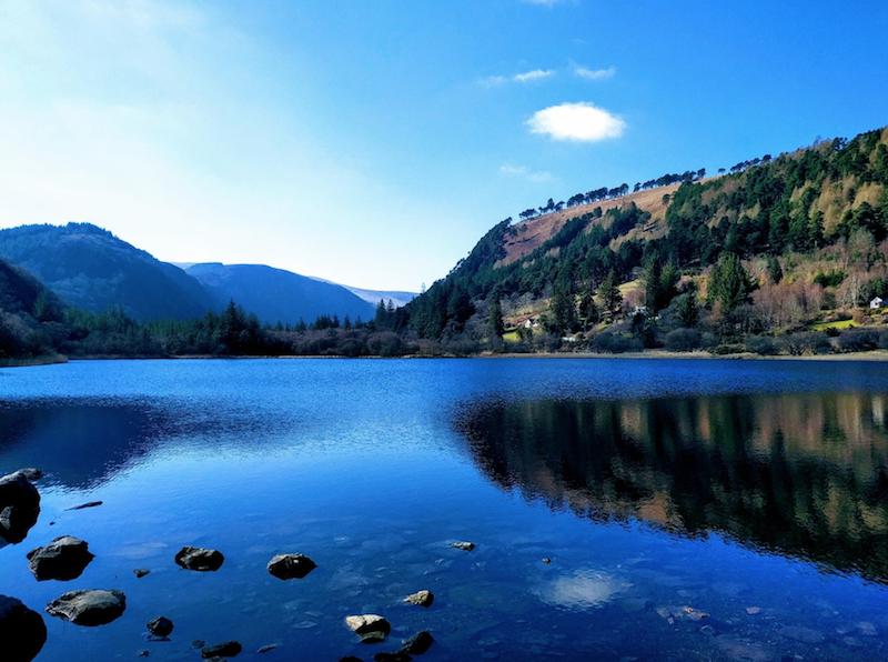 Wicklow Mountains Ireland lake wildes circles origins