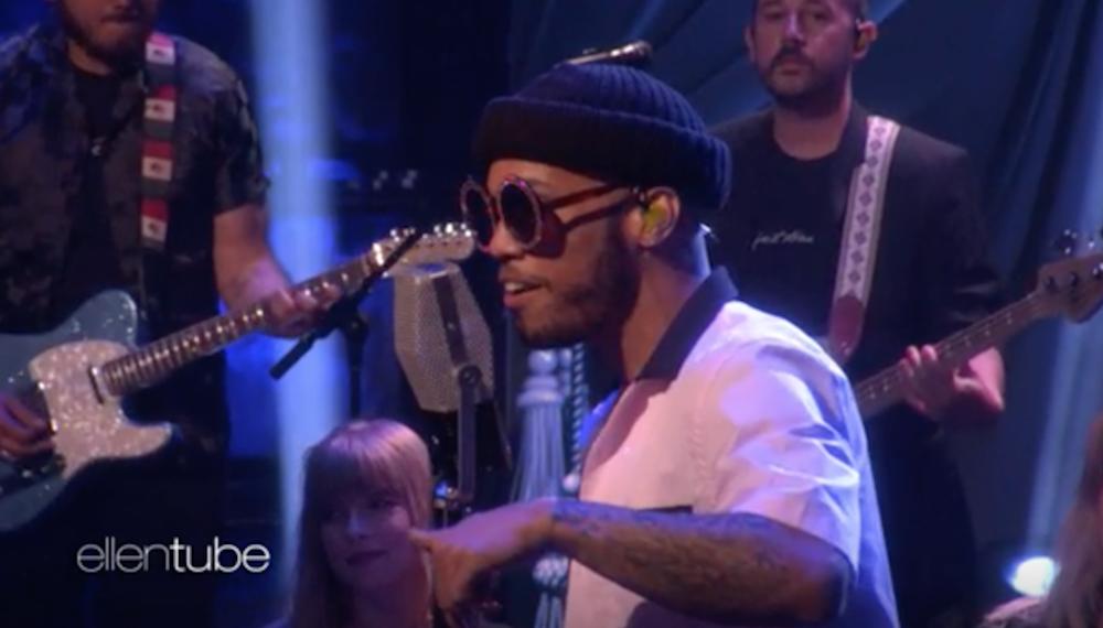 "Anderson .Paak performs ""Make It Better"" on Ellen: Watch"