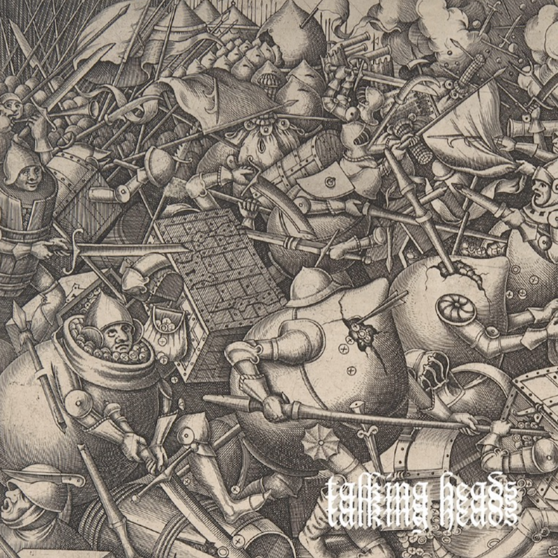 black midi talking heads artwork