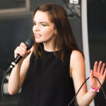 CHVRCHES lauren mayberry death threats chris brown controversy marshmello assault
