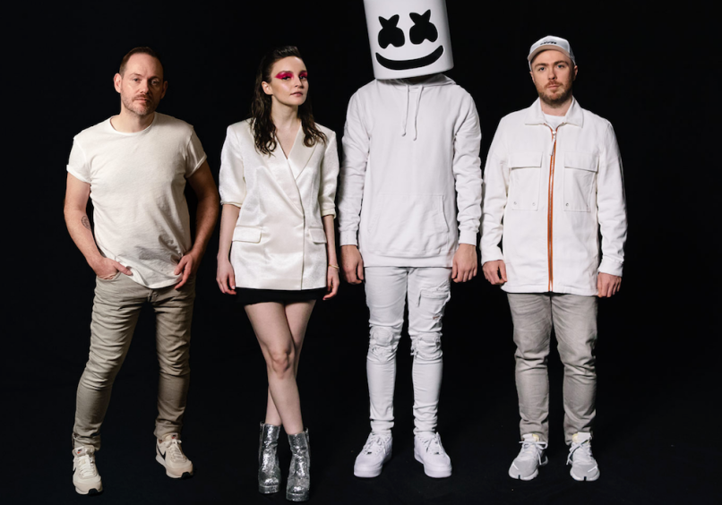 chvrches condemn cut ties marshmello chris brown collaboration