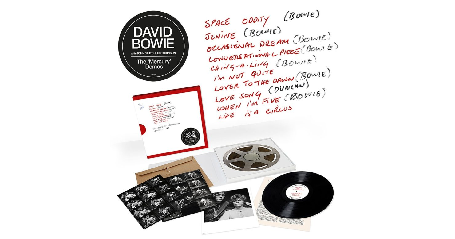 David Bowie's The Mercury Demos collects unreleased recordings that helped secure record deal
