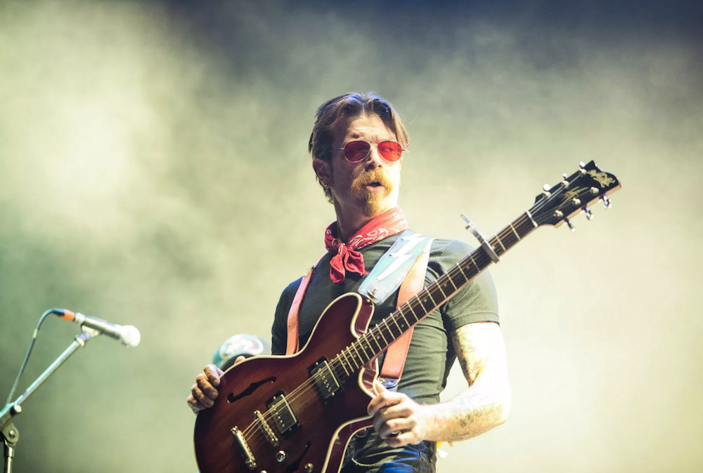 Eagles of Death Metal's Jesse Hughes covers David Bowie, Queens of the Stone Age, and more on new album