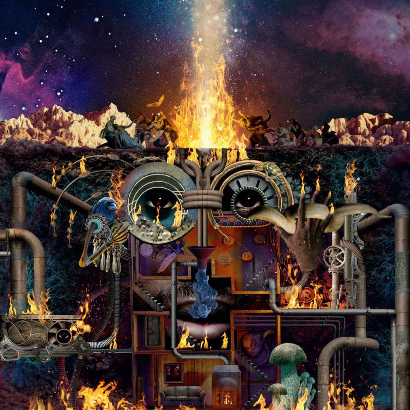 Flying Lotus Flamagra album artwork