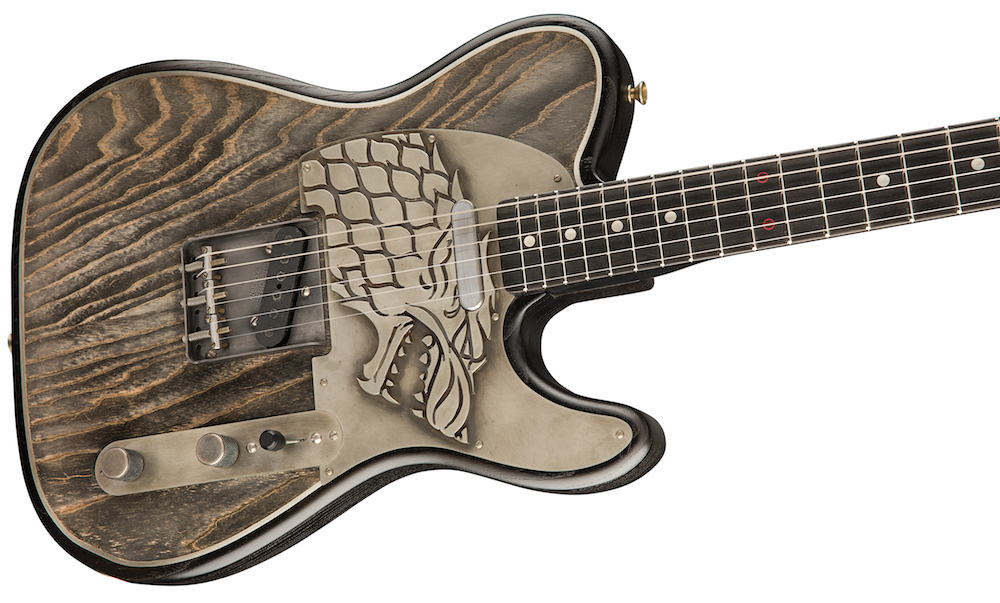 Pledge your allegiance with Fender's new $25,000 Game of Thrones guitars