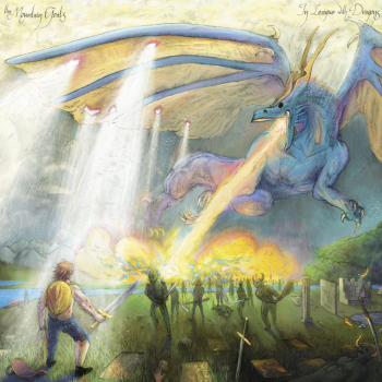 in league with dragons mountain goats album cover artwork