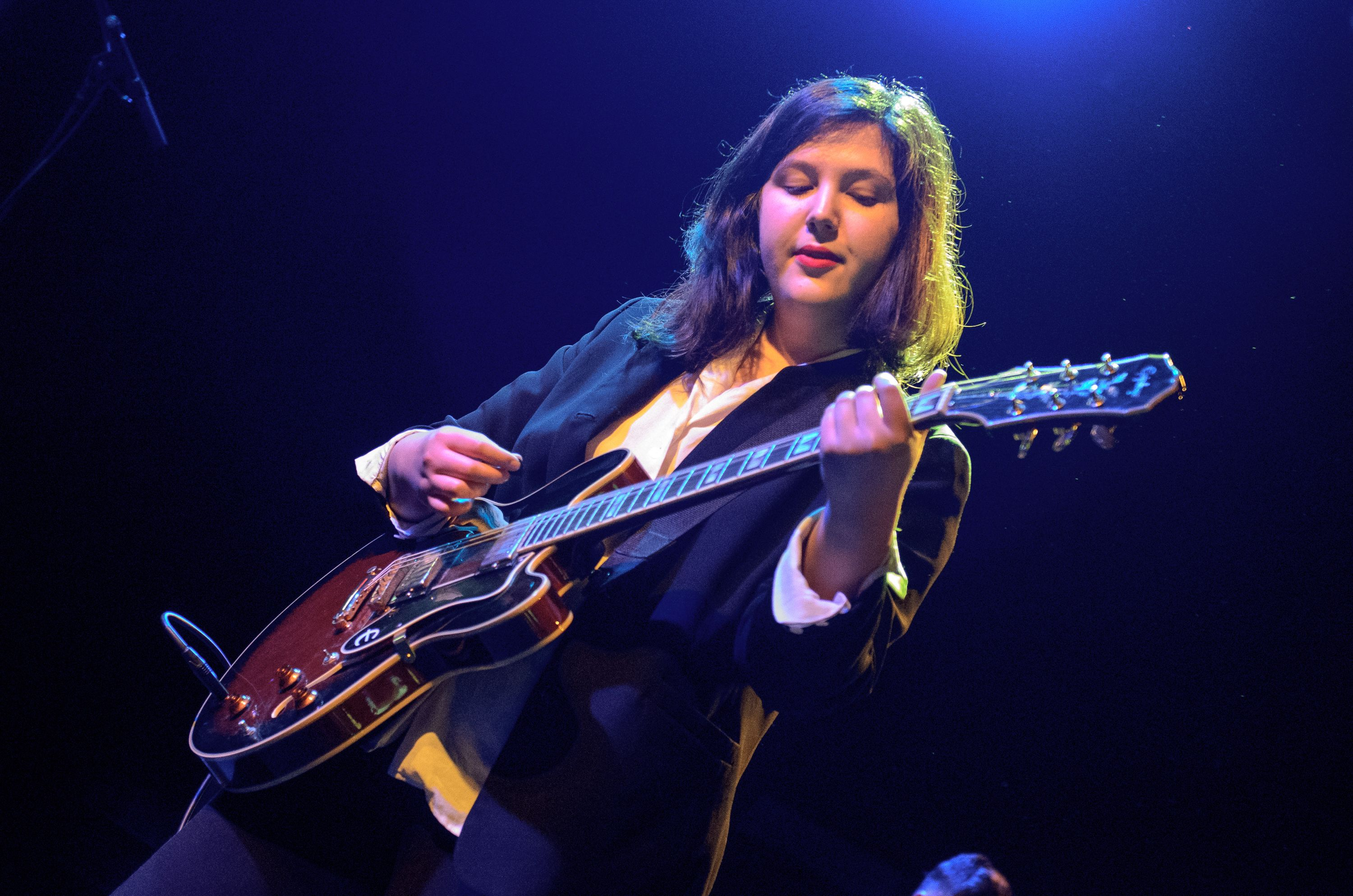 Lucy Dacus, photo by Ben Kaye Mother & I new single holiday Mother's Day Taurus