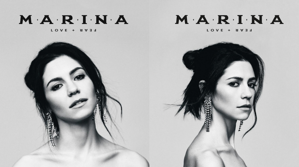 marina love fear album cover artwork MARINA releases second half of new album LOVE+FEAR: Stream