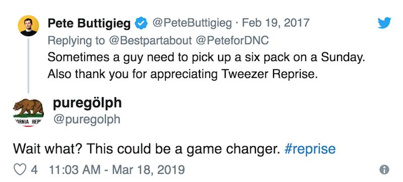 mayor pete buttigieg phish fan inauguration tweezer reprise