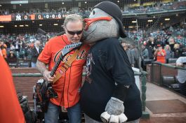 Metallica Night at San Francisco Giants Game. photo by Raymond Ahner