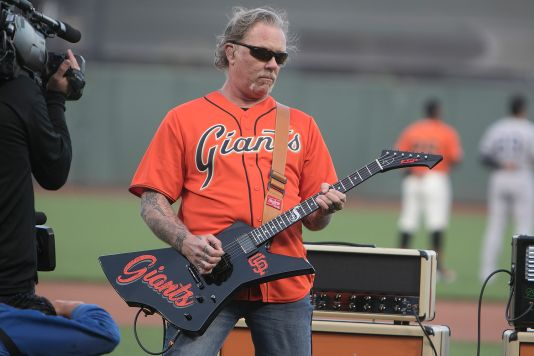 Metallica Night at San Francisco Giants Game