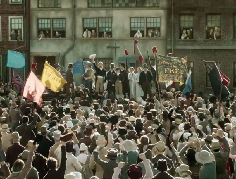 peterloo mike leigh film amazon studios
