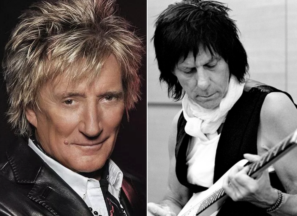 """Rod Stewart and Jeff Beck to reunite for """"most in depth concert in over 35 years"""""""