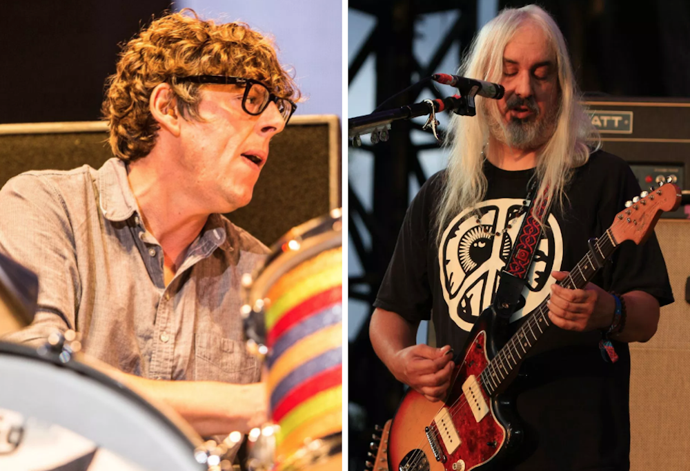 """Patrick Carney's Sad Planets share new song """"Just Landed"""" featuring J Mascis: Stream"""