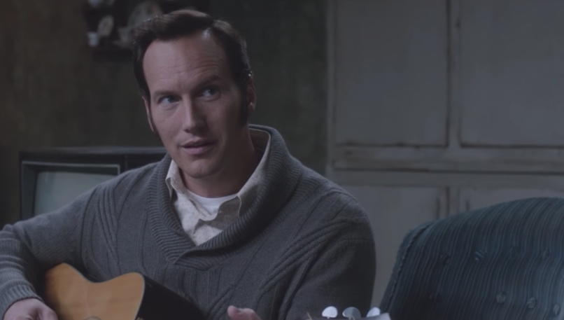 The Conjuring 2, Patrick Wilson, Guitar, Elvis