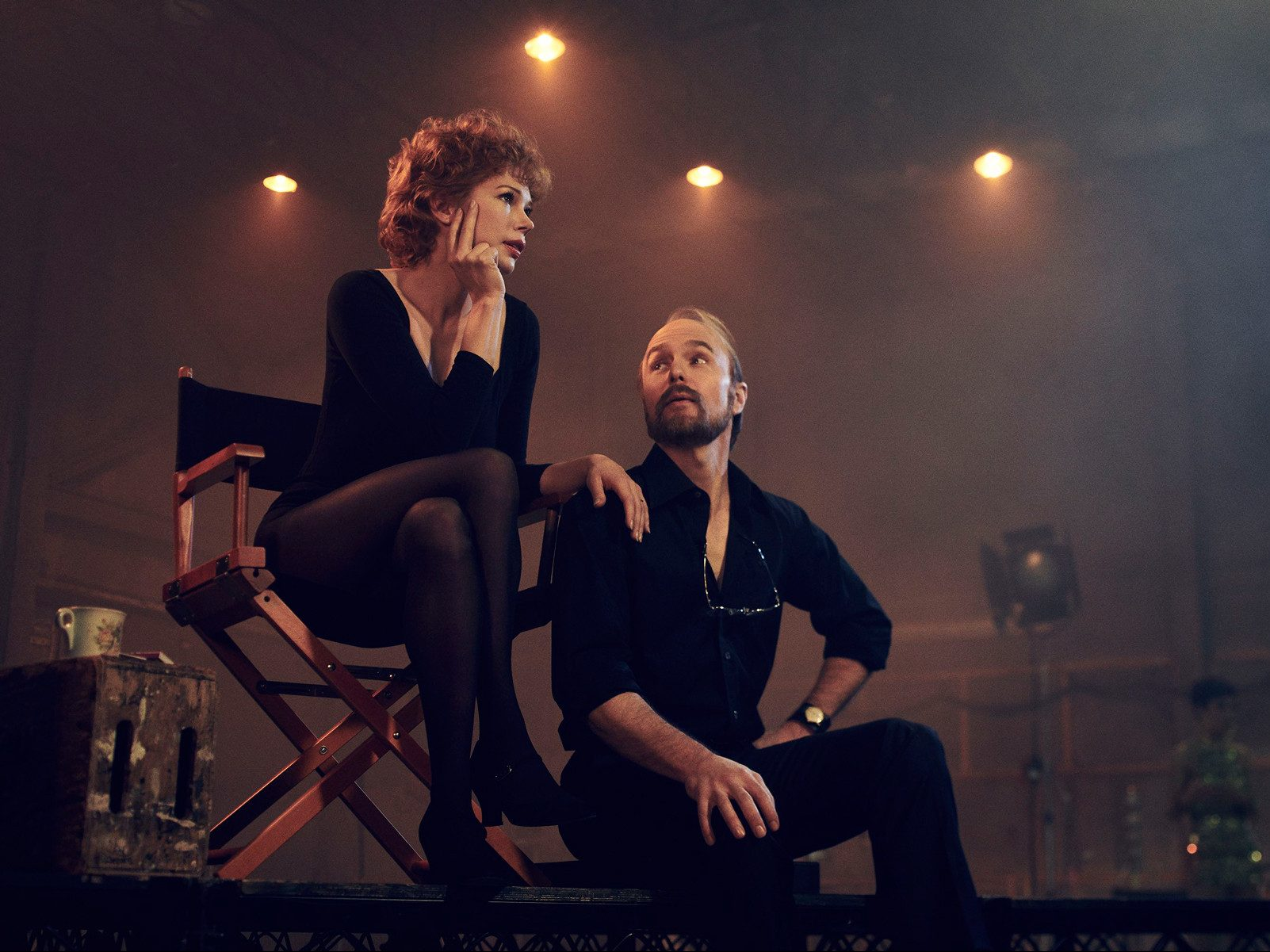 fosse/verdon sam rockwell michelle williams fx series