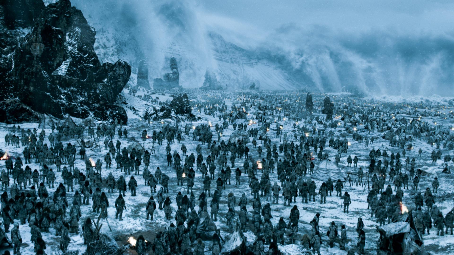 game of thrones white walker army night king season 8