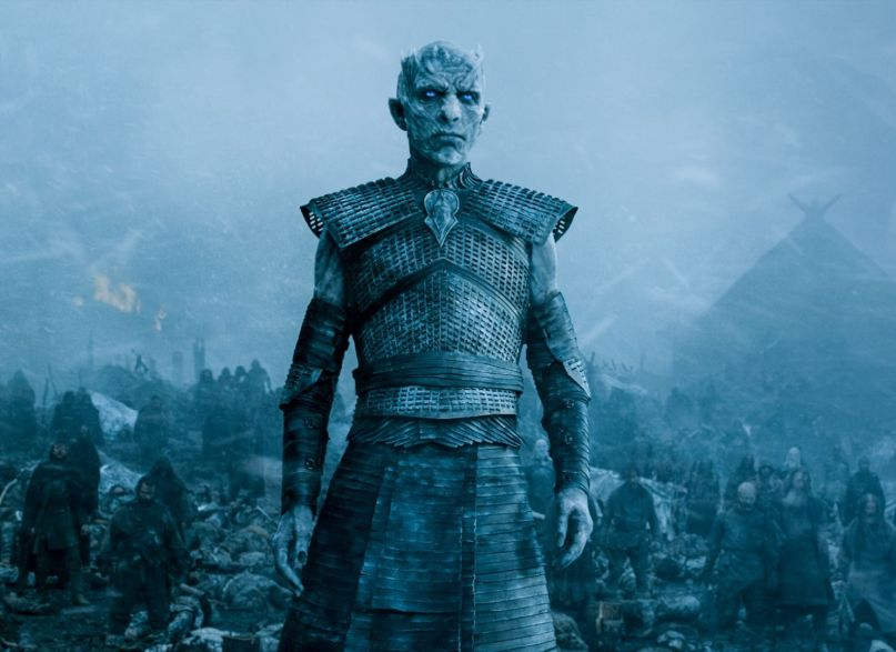game of thrones hbo series night king white walkers