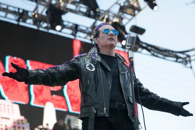 The Damned at 2019 Punk Rock Bowling Festival, photo by Raymond Ahner