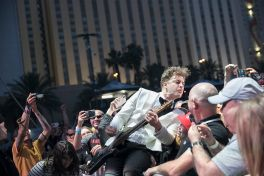 The Hives at 2019 Punk Rock Bowling Festival