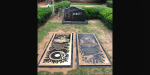 Vinnie Paul and Dimebag Darrell grave markers