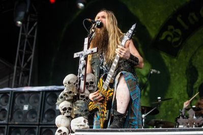 Zakk Wylde and Black Label Society at 2019 Sonic Temple Festival