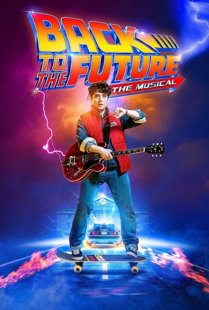 Back to the Future the musical opening poster Great Scott! Back to the Future: The Musical sets premiere date