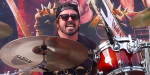 Dave Grohl at Ride for Ronnie Event