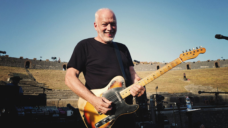 David Gilmour releases Live at Pompeii concert film for free