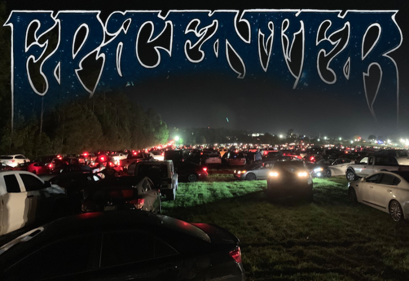 Epicenter festival disaster severe weather canceled saturday traffic parking